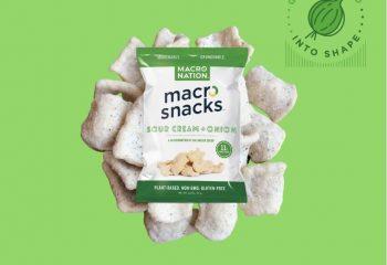 Sour Cream and Onion Macro Snacks
