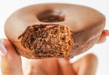Chocolate Protein Donut