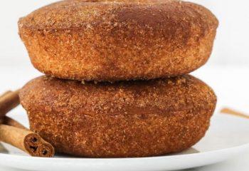 Cinnamon Sugar Protein Donut