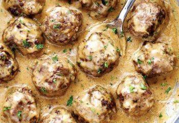 Swedish Meatballs (Low Carb/Keto)